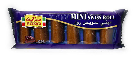 6 MINI ROLL-CHOCOLATE  20G