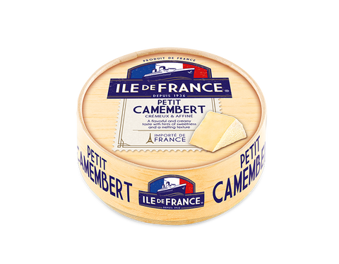 ILE DE FRANCE - Petit Camembert Cheese - 125gm - MarkeetEx