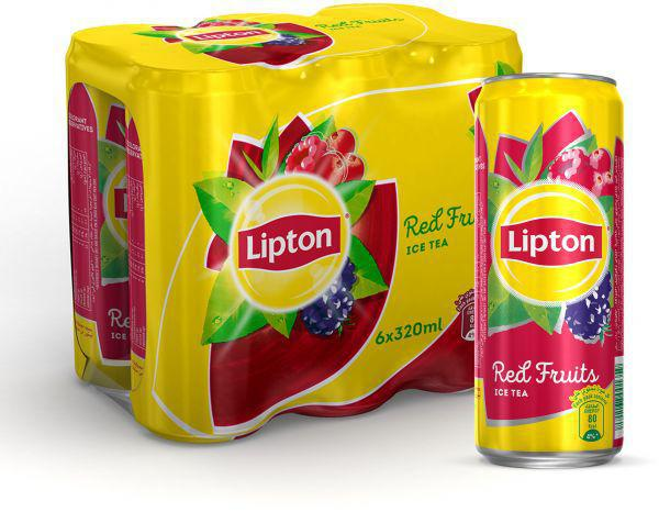Lipton Red Fruits Ice Tea 6pcsX320ml Pack