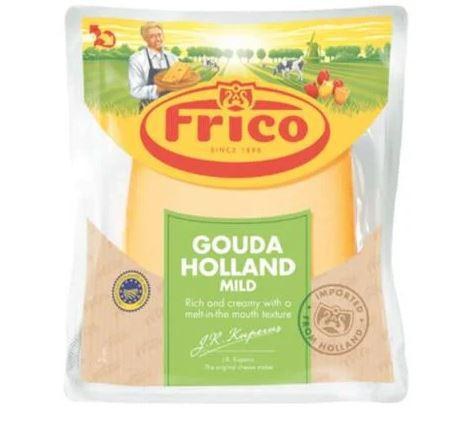 Frico Gouda Cheese Holland Wedge Mild - 498gm