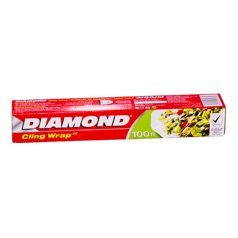Diamond Cling Wrap 100ft. - 30cmX30cm