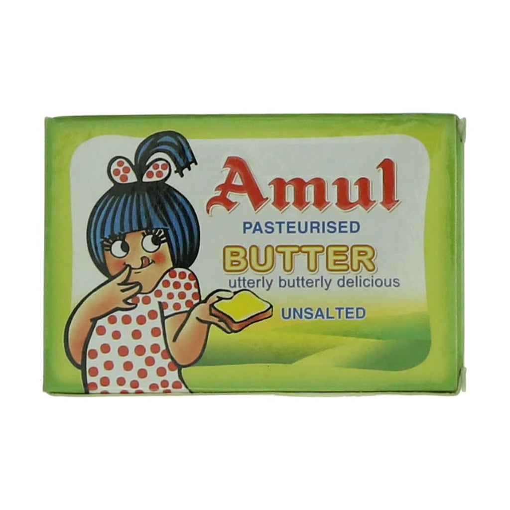Butter Pasteurised Unsalted Amul 500GM