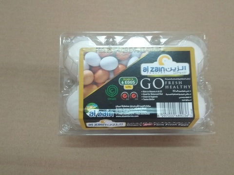 Al Zain Oman Egg 6pcs Pack