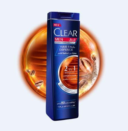 CLEAR MEN HAIR FALL DEFENCE 2 IN 1 SHAMPOO + CONDITIONER 200ML - MarkeetEx