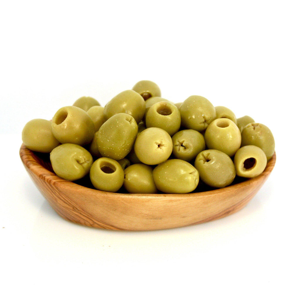Spanish Green pitted Olives 200 GMS TO 250 GMS