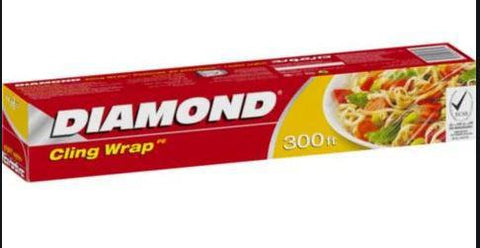 Diamond Cling Wrap 300ft. - 30cmX91m