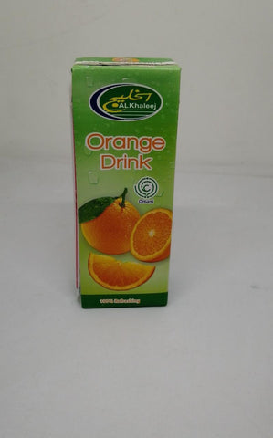 Al Khaleej Orange Drink 225mlX24Pcs