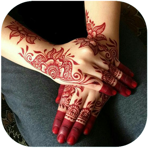 5 Minute Henna - Elina Red Cone