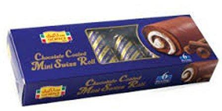 6 MINI ROLL-COATED /CHOCO 25G - MarkeetEx
