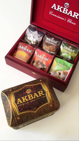 Akbar Gift (wood box) - MarkeetEx