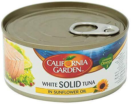 California Garden White Solid Tuna - In Sunflower Oil 185g