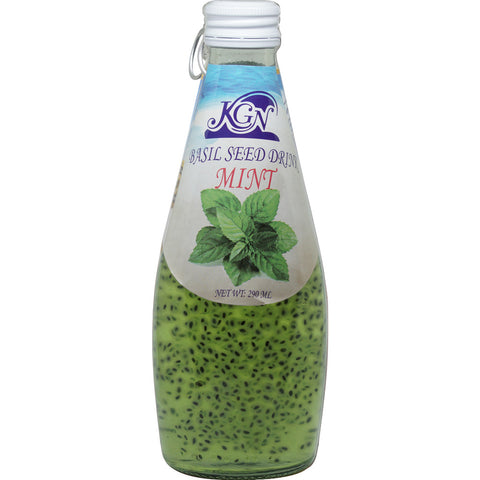 Basil Seed Drink Mint 290ml- شراب بذور الريحان نعناع