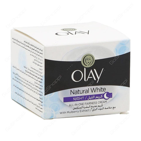 OLAY NATURAL WHITE NIGHT 50GM NEW - MarkeetEx