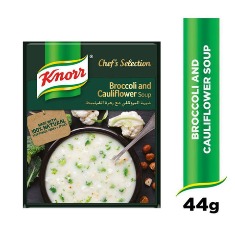 Knorr - Broccoli and Cauliflower Soup - 44gm - MarkeetEx