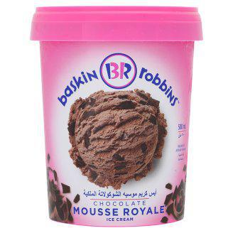 Baskin Robbins Chocolate Mousse Royale Ice Cream 500ml