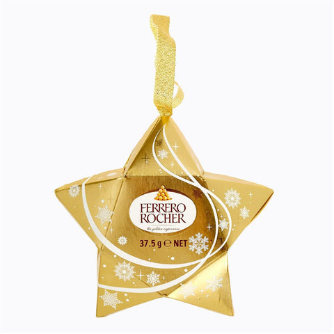 Ferrero Rocher 3 Pieces Star - 37.5gm