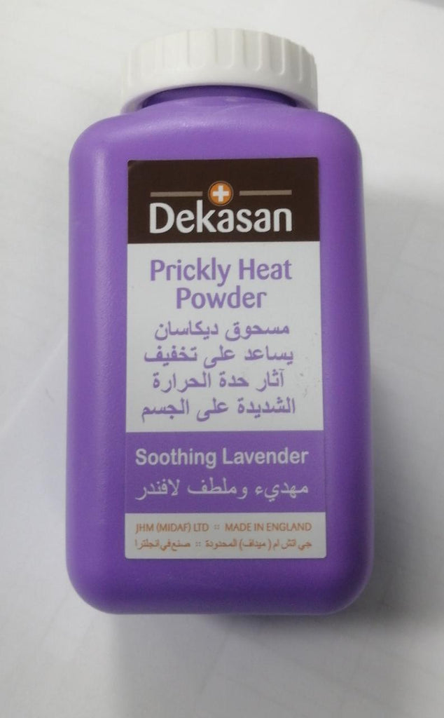Dekasan Prickly Heat Powder Lavender 100gm - MarkeetEx