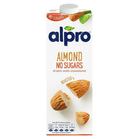 Alpro Roasted Almond Drink UnSweetned 1Ltr - MarkeetEx