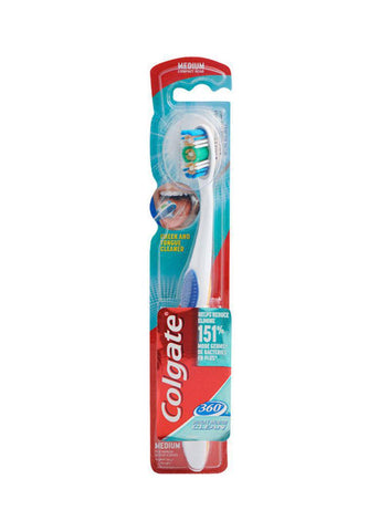 Colgate 360 Toothbrush - Medium - - MarkeetEx