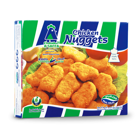 Chicken Nuggets A'Saffa - دجاج ناجتس مقرمش الصفا - MarkeetEx