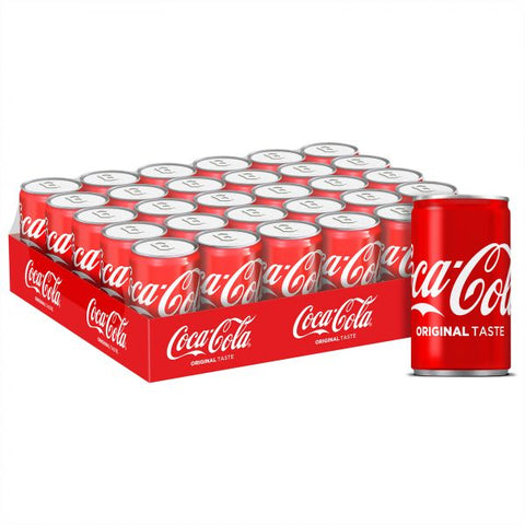 Coca Cola 150ML Can Small X 30 Pcs - MarkeetEx