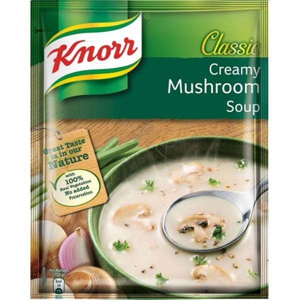 Soup Cream of Mushroom Knorr 53GM