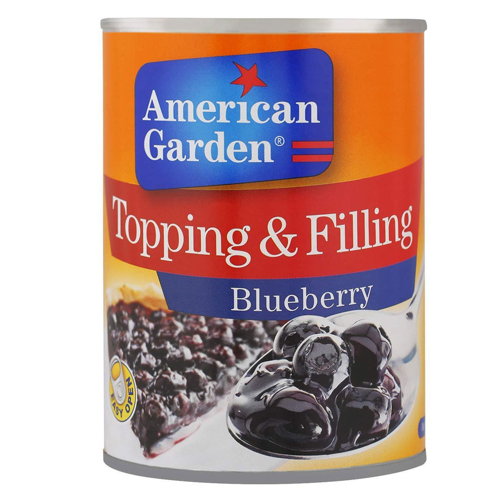 American Garden - Topping & Filling - Blueberry - 595gm - MarkeetEx