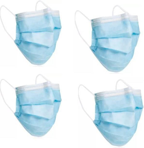 Disposable Face Mask 4pcs Pack - MarkeetEx