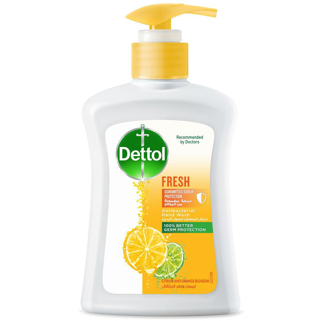 Dettol Fresh Hand Wash Citrus And Orange Blossom 200ml - MarkeetEx