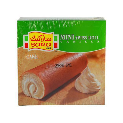SINGLE MINI ROLLS-VANILA 20G - MarkeetEx