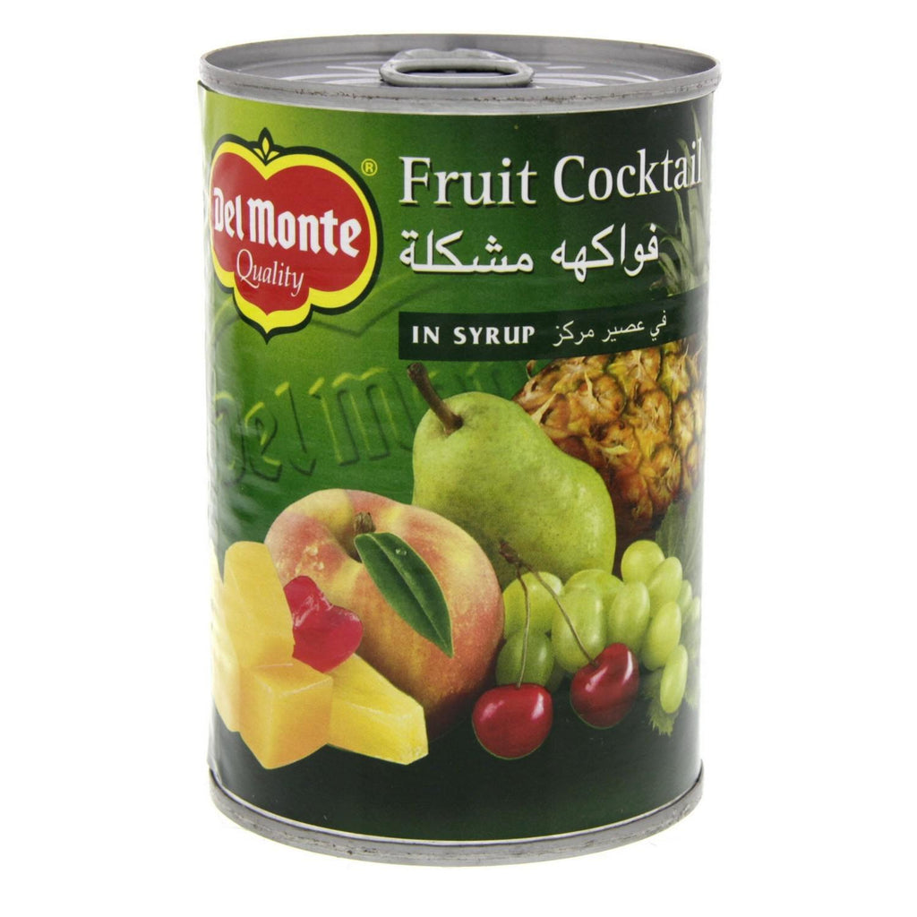 Delmonte Fruit Cocktail Syrup 420gm - MarkeetEx