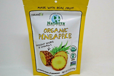 Natierra Nature's All Foods - Organic Pineapple - 43gm