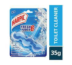 Harpic Fresh Power 6 Block Marine Splash 39gm