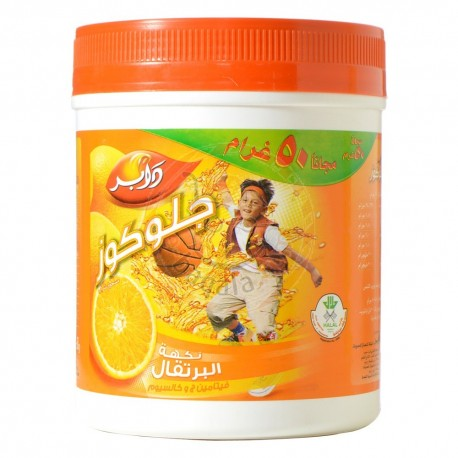 Glucose-D Juicy Orange Flavour Powder 250GM+50GM