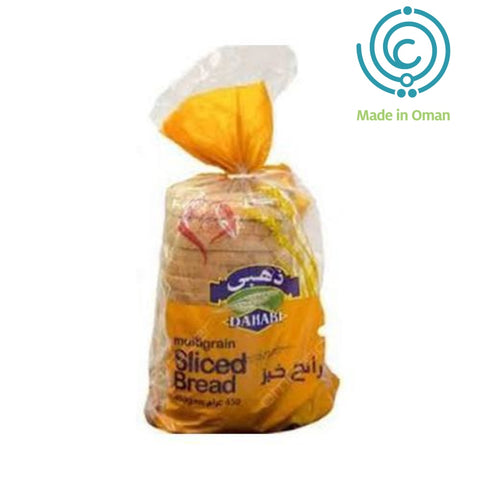 Dahabi Multigrain Sliced Bread 450gm - MarkeetEx