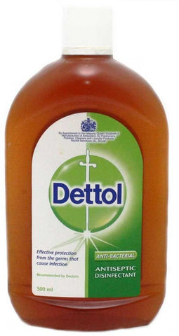 Dettol Antiseptic Disinfectant 500ml - MarkeetEx