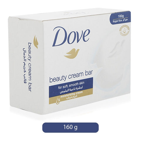 Dove Beauty Cream Bar 160gm-White