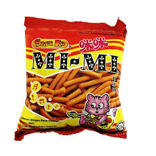 MI-MI Prawn Flavoured Snacks 10gmX50pcs-Pack