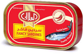 Al Alali Fancy Sardines in Sunflower Oil with Chilli - 100 gm