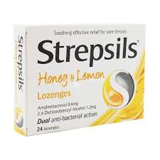 Strepsils Honey & Lemon Lozenges 24 Pack