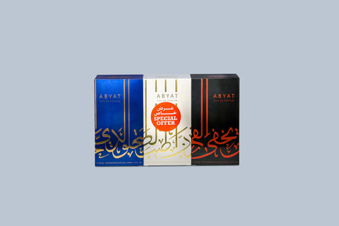 Abyat Gift pack 3 pcs 100ml each - MarkeetEx