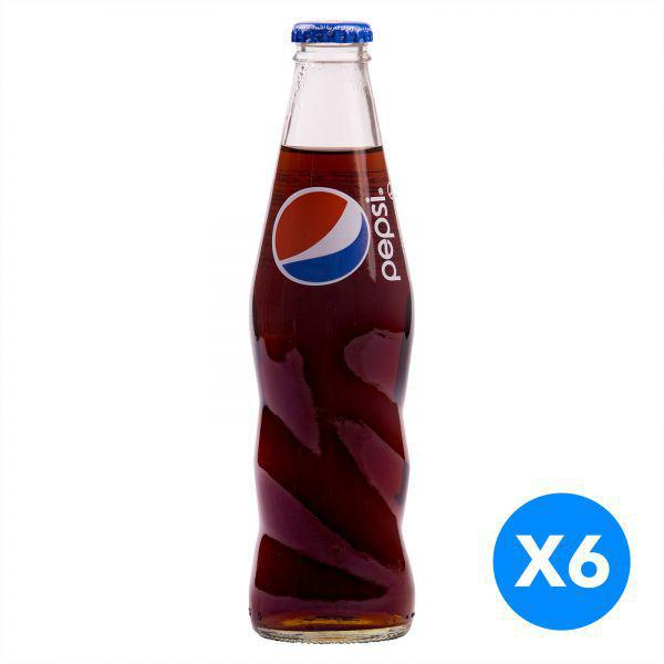 Pepsi 250ml X 6Pcs Pack - Glass Bottle - MarkeetEx