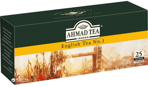 Ahmad Tea London English Tea No.1 - 25 Tea Bag - MarkeetEx