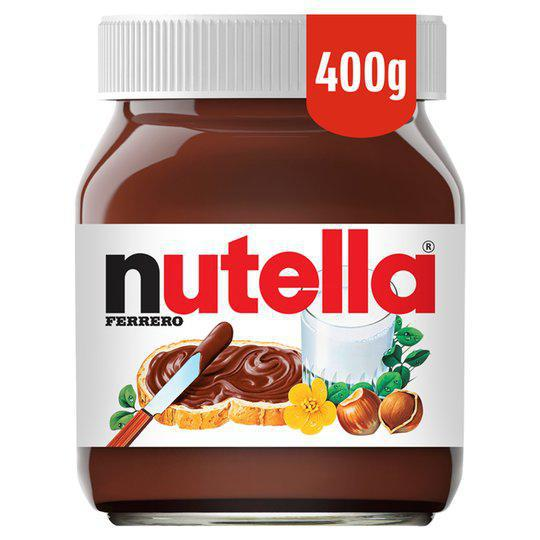 Nutella Hazelnut Chocolate Spread 400gm - نيوتيلا - MarkeetEx