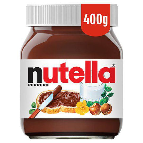 Nutella Hazelnut Chocolate Spread 400gm - نيوتيلا