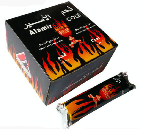 Al Amir - Swift light Charcoal 10 Rolls فحم سريع الاشتعال - MarkeetEx