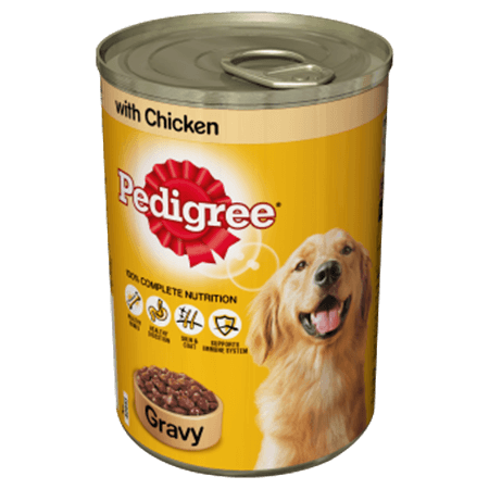 Pedigree with Chicken - Gravy - 400gm-449-C