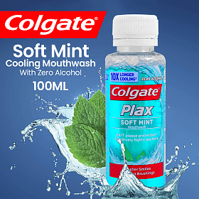 Colgate Mouth Wash Plax Mint 100ml - MarkeetEx