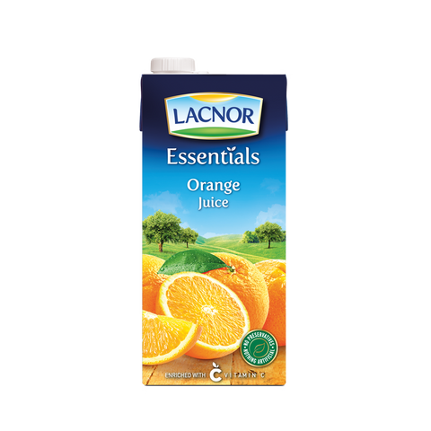 Essentials Orange Juice Lacnor 1 Ltr - عصير برتقال لاكنور