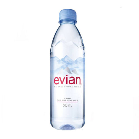 Evian Natural Still Mineral Water (500ml)